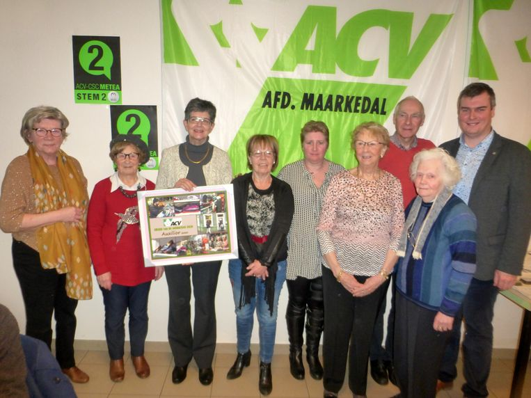 Auxilior 2000 krijgt de Award van de Solidariteit van het ACV Ronse.