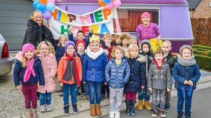 Leukemiepatiëntje Sofie beleeft onvergetelijke zesde verjaardag