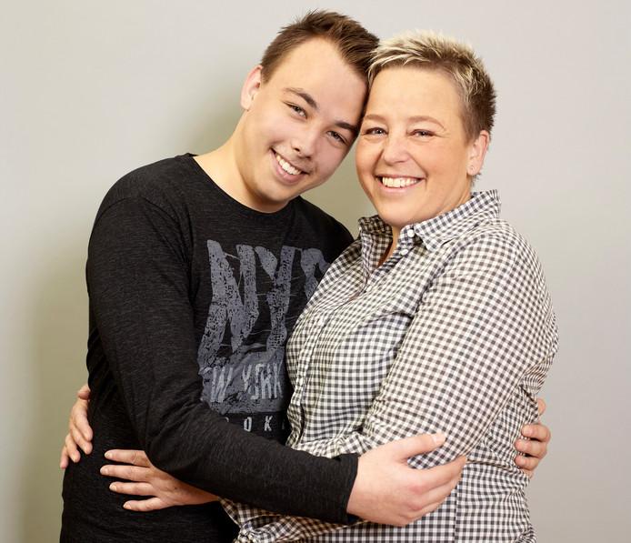 Sandra Schuiten en Robin