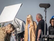 Hollywood aan de Oosterschelde; filmset Linda de Mol in Yerseke