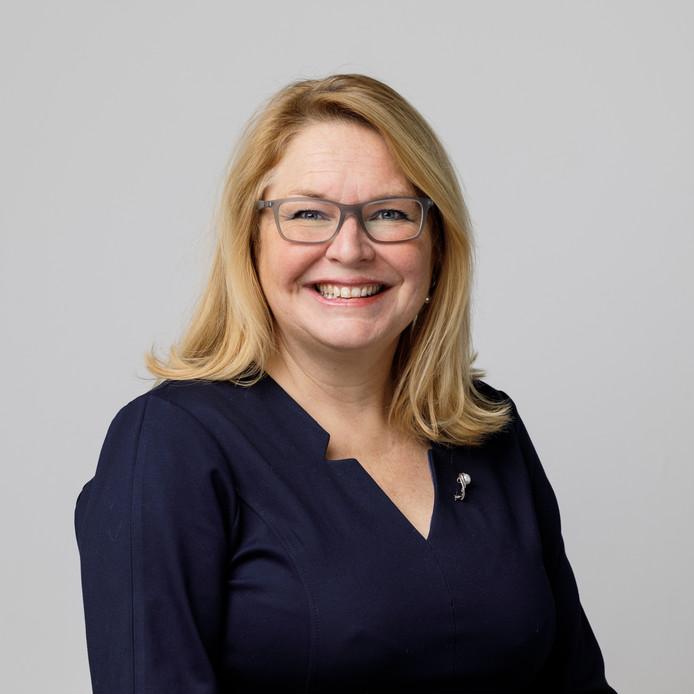 Miranda den Tuinder, fractievoorzitter van de D66 in de Hoeksche Waard: ,,Het verduurzamen van de landbouw: overduidelijk zo'n onderwerp dat we niet alleen kunnen oplossen.''