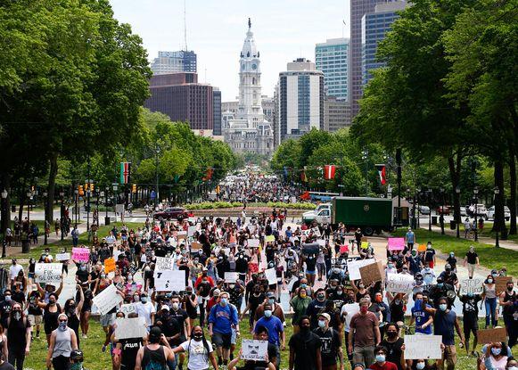 Protesten in Philadelphia.