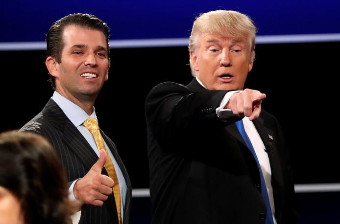 Donald Trump et son fils Donald Trump Jr