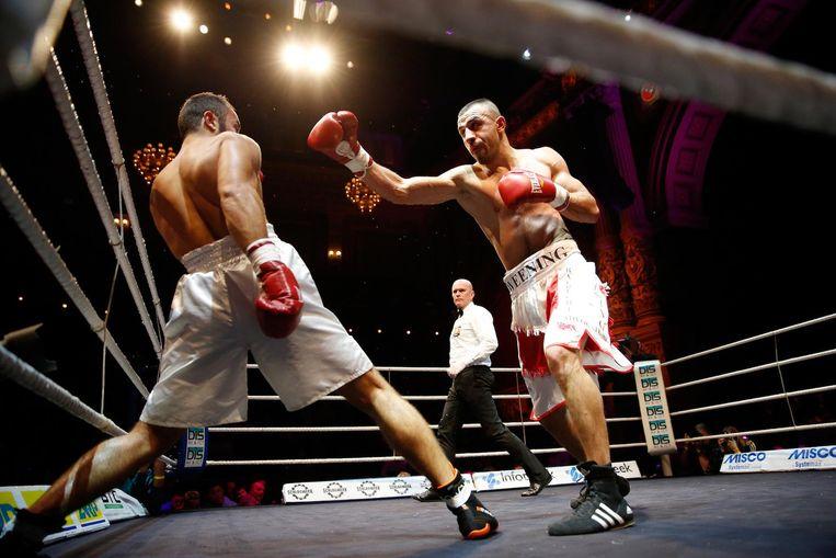 Het boksgala is al elf jaar een vast onderdeel in het programma van het theater Beeld anp