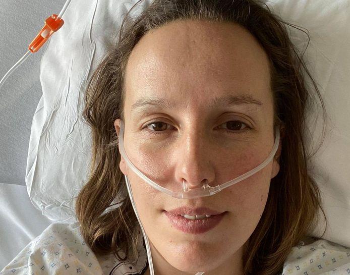 Louise Claeys-Bouuaert (37) uit Ieper