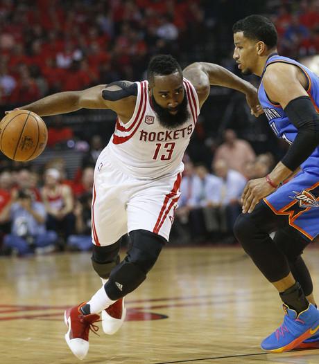 Houston verslaat Oklahoma en gaat door in play-offs