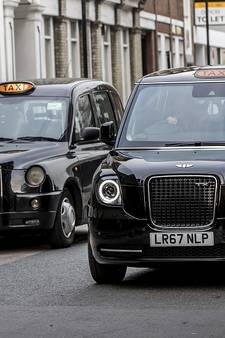 Stil in Londen: 'Black Cab' sinds 1 januari elektrisch