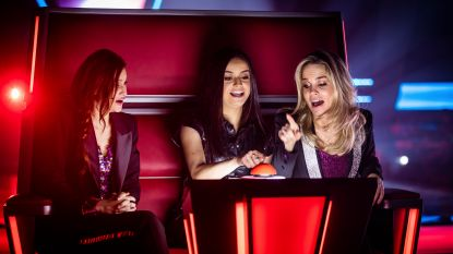 K3 zit niet meer in één stoel bij 'The Voice Kids'