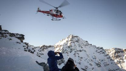 Lawine in Zwitserland sleurt vier mensen mee