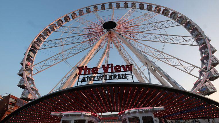 'The View' is 55 meter hoog met 42 gondels.
