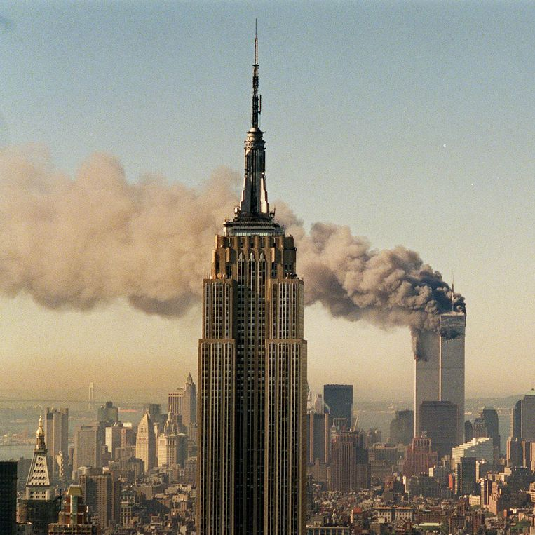 Manhattan, 11 september 2001. Beeld ap