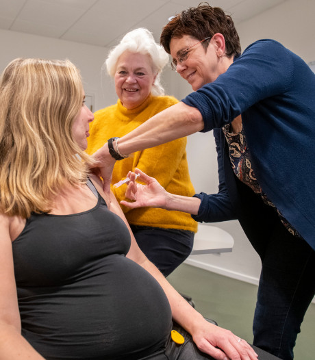 Ruime verdubbeling van kinkhoest-vaccinaties bij zwangere vrouwen in de regio IJsselland