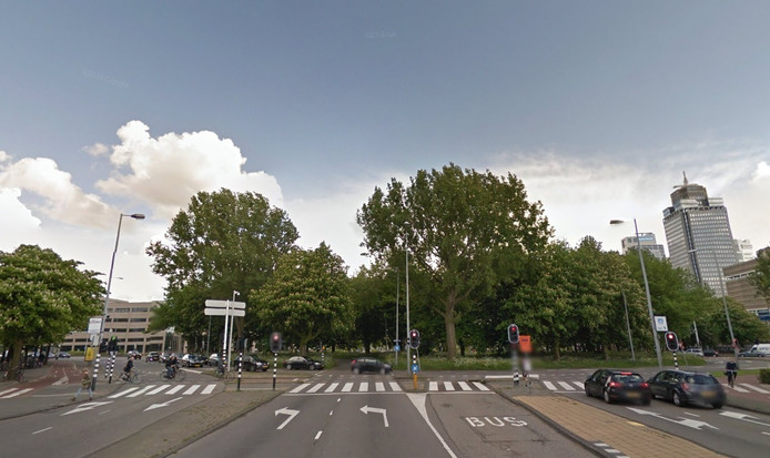 Het Prins Bernhardplein in Amsterdam-Oost