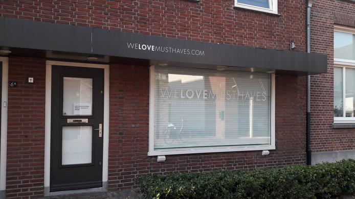 De fysieke winkel van We Love Musthaves die in 2018 sloot, waarna de webwinkel overbleef.