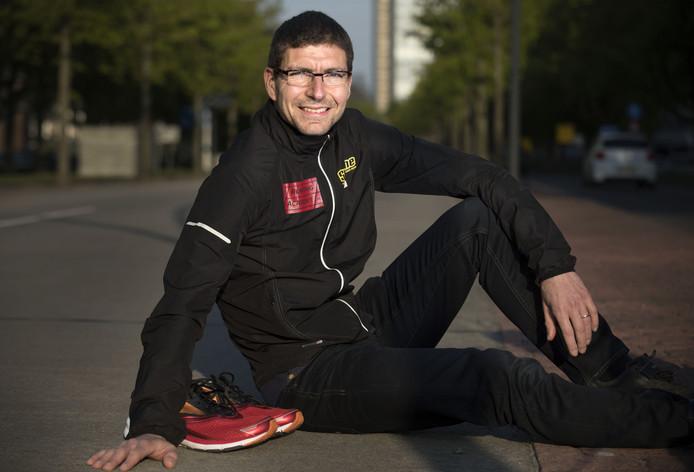 Is Richard Loendersloot zondag de snelste Tukker in de Enschede Marathon.