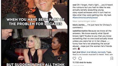 """""""Oprah wíst wat Weinstein deed"""""""