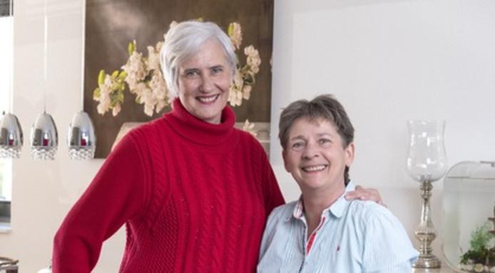 Anneke Boegheim en Wietske Triel (links) uit Rotterdam