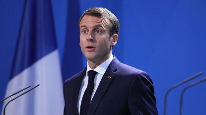 """Macron: """"Europa moet zelfstandiger worden"""""""