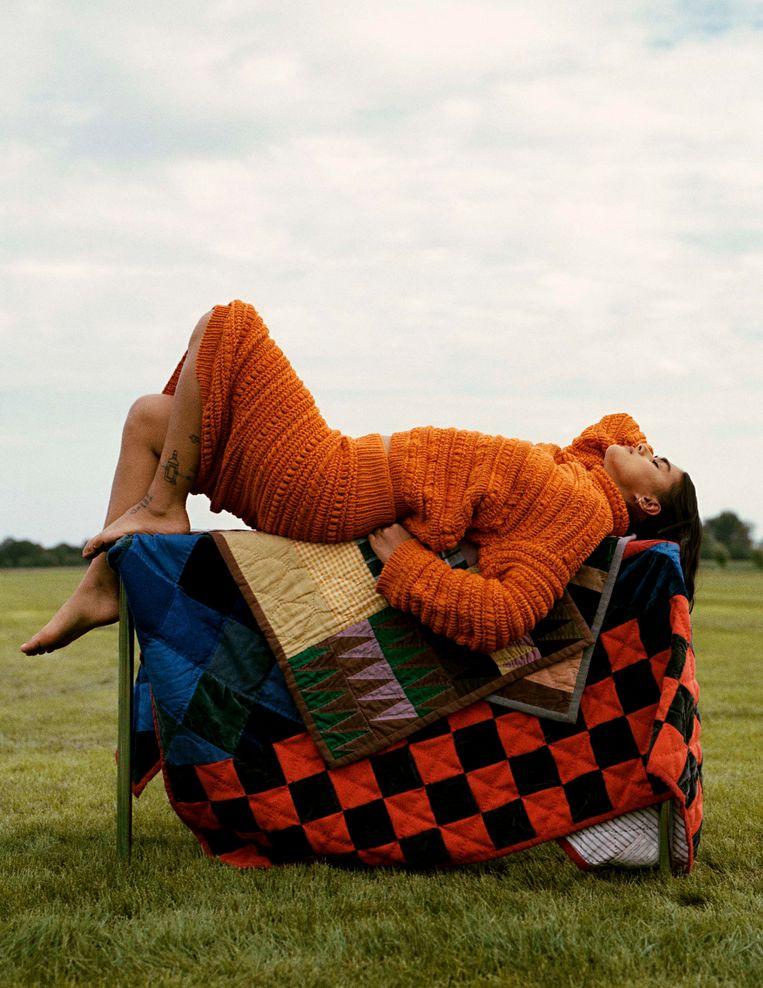 Werk van Casper Kofi voor Vogue. Beeld Casper Kofi