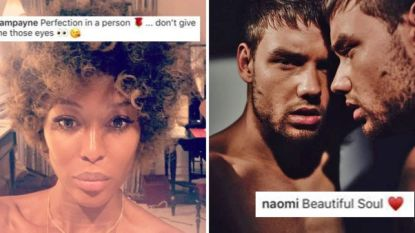"""Naomi Campbell (48) en Liam Payne (25) zetten het openlijk op een flirten: """"Je bent de perfectie in persoon"""""""