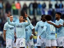 Lazio haalt uit, maar topscorer Immobile scoort niet