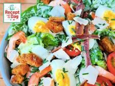 Recept van de dag: Caesar salade met gamba's