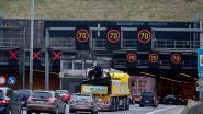 Lange file op Antwerpse ring na ongeval net voorbij Kennedytunnel
