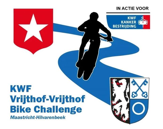 Van het Vrijthof in Maastricht naar de Vrijthof in Hilvarenbeek is 150 kilometer mountainbiken.
