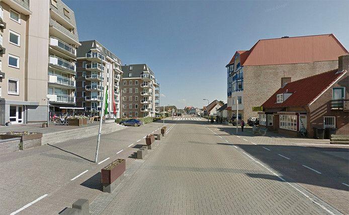 Boulevard De Wielingen in Cadzand-Bad