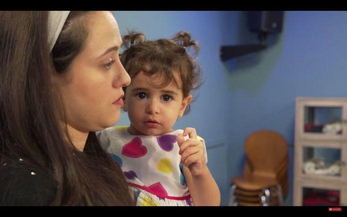 La mère d'Eliana, en larmes, avait supplié ses compatriotes de sauver sa fille