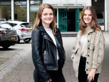 Vienna en Lynn uit Enschede zetten zich in voor een gezonde school: 'Huh een appel? '