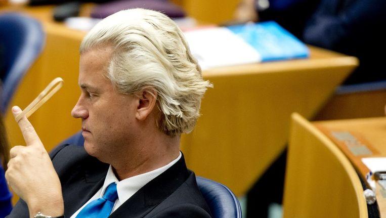 PVV-leider Geert Wilders Beeld null
