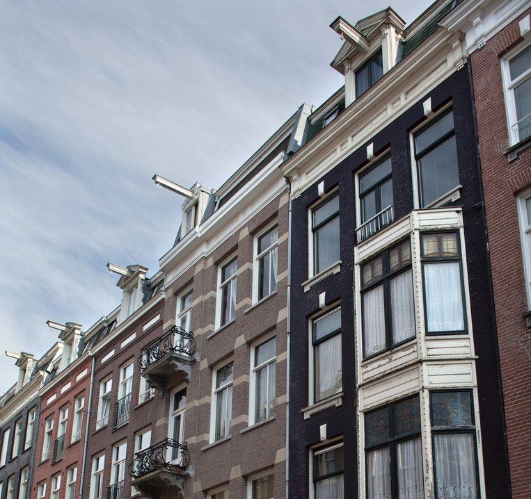 Zoekers naar koopwoningen in Amsterdam doen er verstandig aan voorlopig huizen op erfpachtgrond helemaal te mijden. Beeld Rink Hof