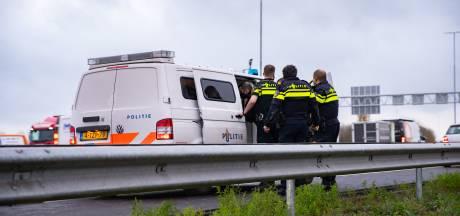 Aanhouding op A1 bij Deventer na verkeersruzie