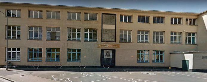 Basisschool Glorieux in de Sint-Pietersnieuwstraat.