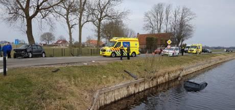 Auto met vier kinderen te water bij Hasselt