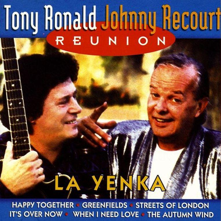 De cd Reunión uit 1997 van de twee dienstmaten Ton de Boer en Wim Recourt, oftewel Tony Ronald en Johnny Recourt. Beeld Marina Music