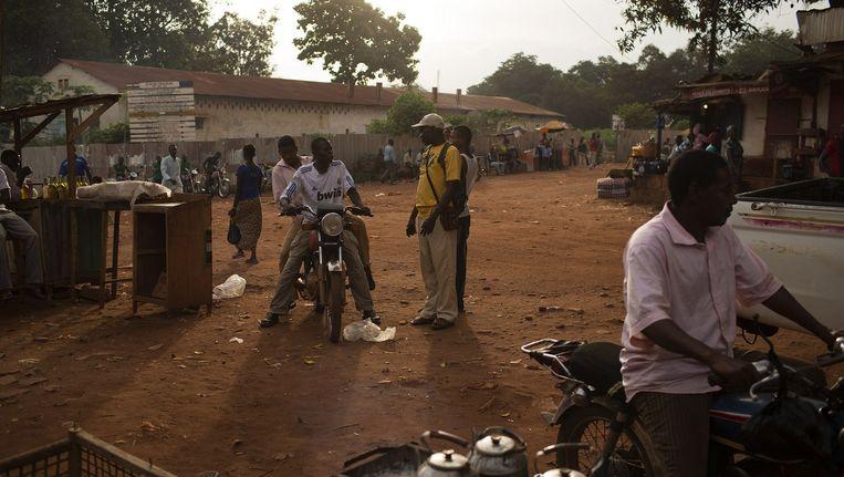 Burgers in Bambari Beeld reuters