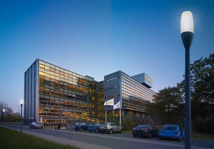 Het hoofdkantoor van NXP op de High Tech Campus in Eindhoven.