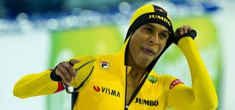N'tab wint 500 meter in Thialf, Verbij valt opnieuw