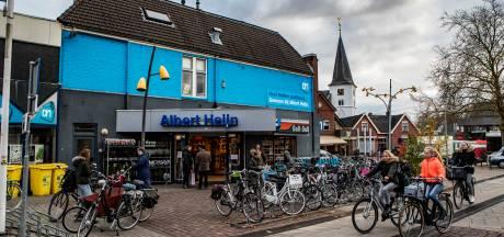 Albert Heijn Holten staat blank na hevige onweersbuien
