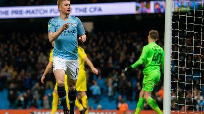 De meest fortuinlijke gokker is een Man City-fan: hij zette in op 9-0-zege en De Bruyne die eerste goal maakt