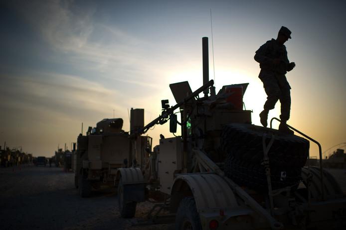 Un soldat américain en Irak / Photo prétexte