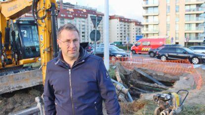 Hoofdleiding doorboord: Nieuwpoort-Bad halve dag zonder water