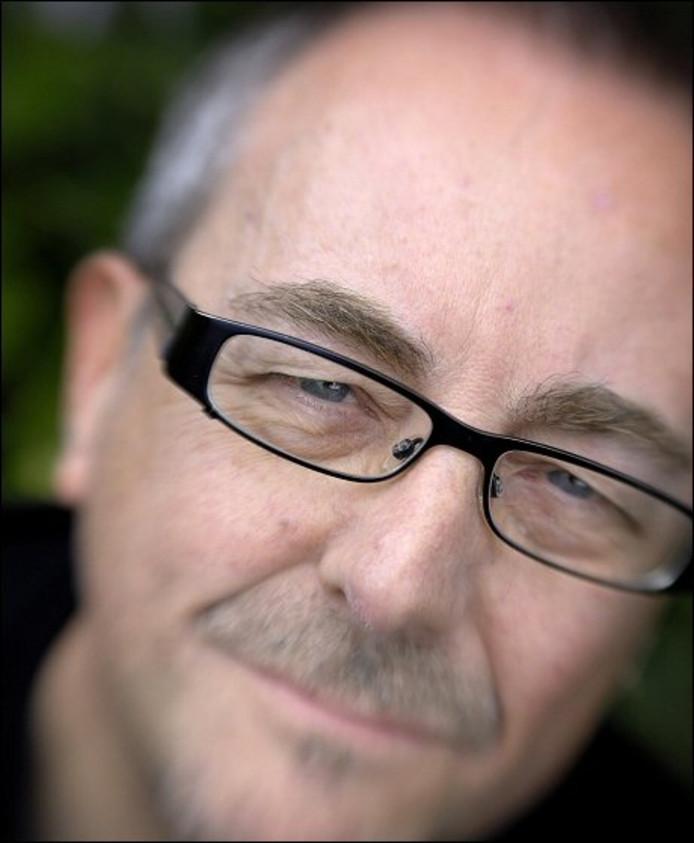 Ewoud Willem van Doorn: 'Poëzie is een reis in jezelf en in de taal.' foto Robert van den Berge/ het fotoburo