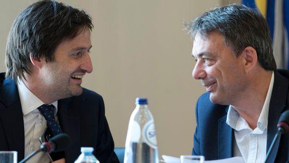 Nicolas Ledent en Wilbert Stoefs.