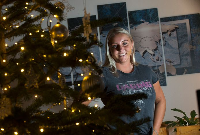 Willemijn ter Avest viert kerst in Zevenaar.