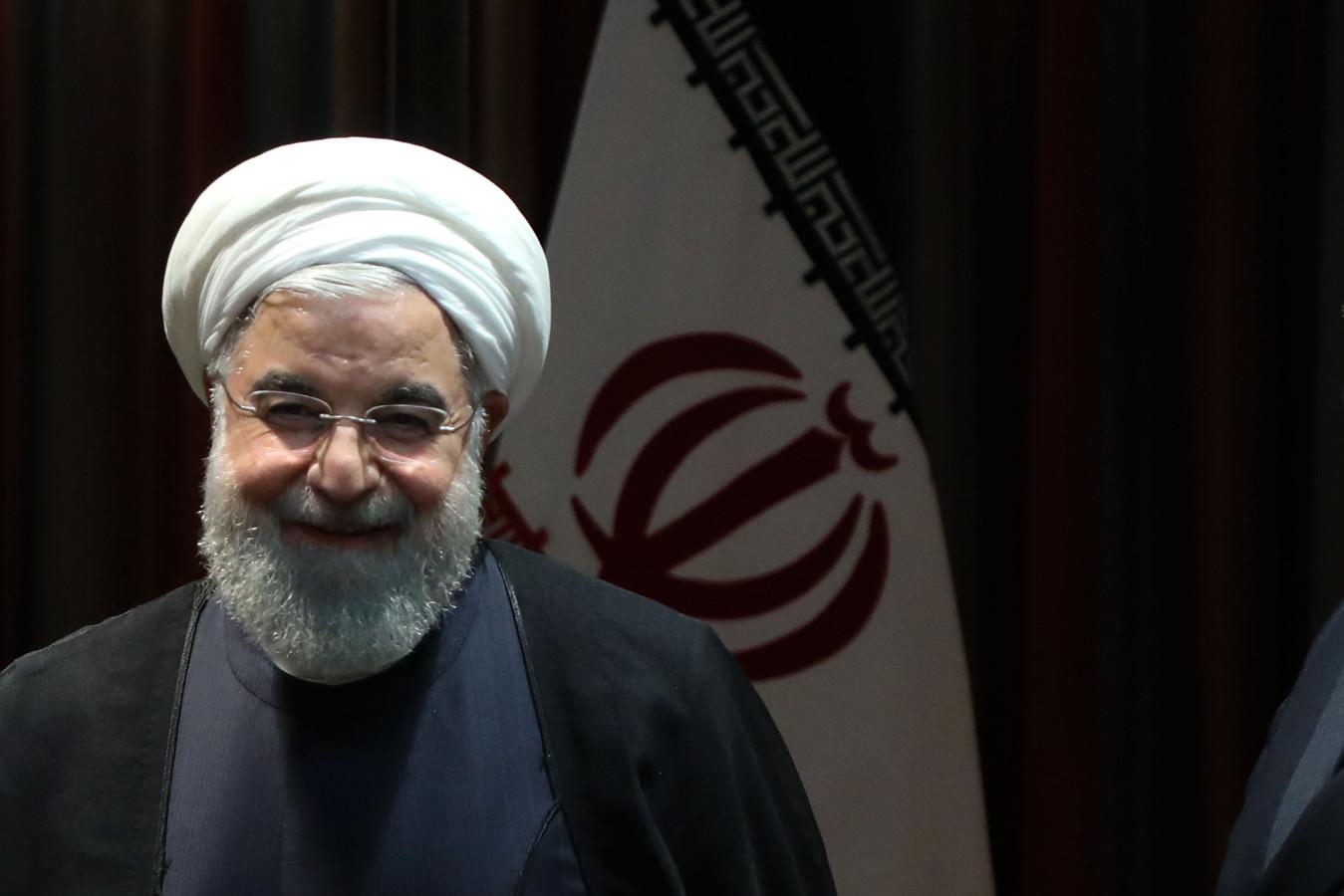 Le président iranien Hasan Rohani.