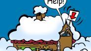 Moeite om voetpad sneeuwvrij te maken? Vraag hulp via een affiche