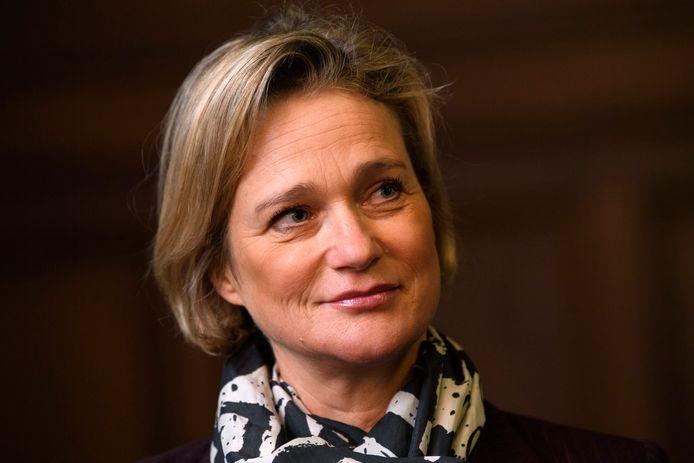 Delphine Boël, le 29 novembre 2019.
